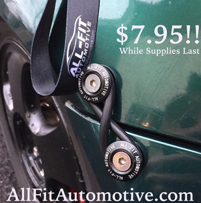 All Fit Automotive Bumper Quick Release