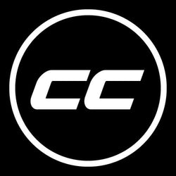 CC Circle Logo Sticker