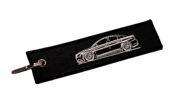 1st Gen Sedan Sideview Street Style Black Key Tag