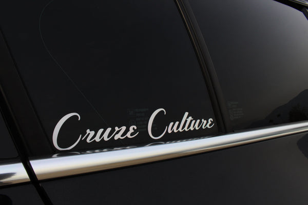 Cruze Culture Classic Sticker