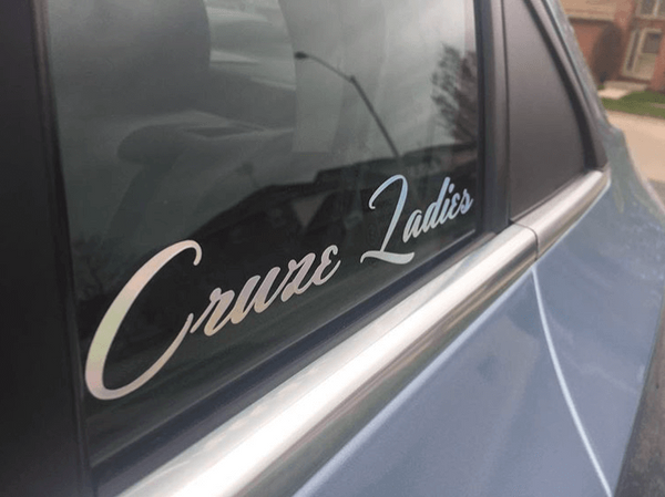 Cruze Ladies Sticker