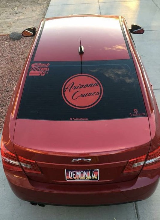 Rep Your State Classic Circle Logo Sticker