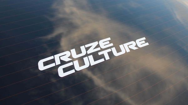 Cruze Culture Offset Sticker