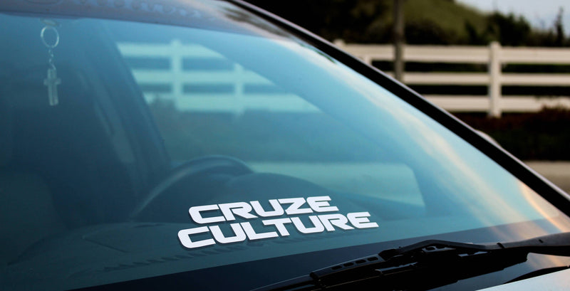 Cruze Culture Stacked Sticker
