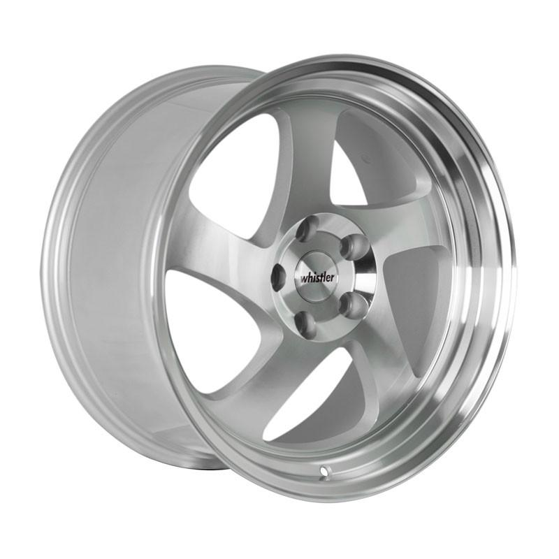 Whistler Wheels KR1 Machined Silver