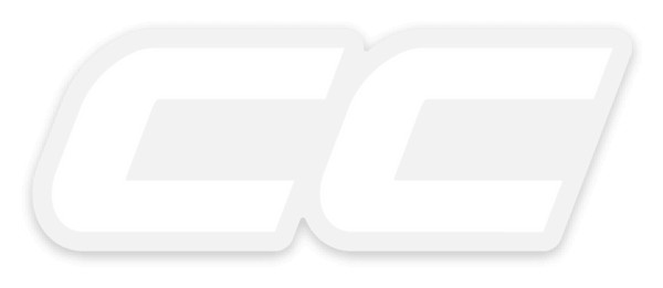 CC Logo Transparent Sticker