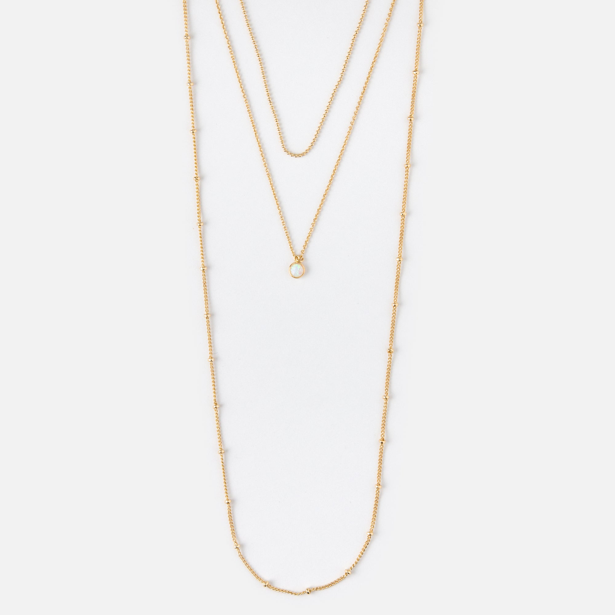 oliver row black multi necklace mixed jewellery bonas laurel metal