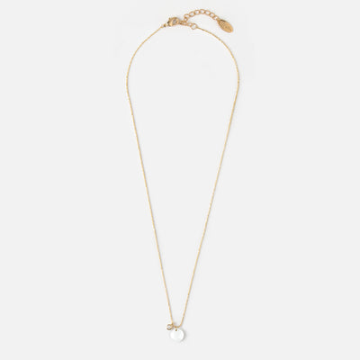 OPAL FACETED STONE Gold NECKLACE