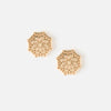 Gold Plated Filigree Studs