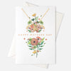 Mothers Day Dove Necklace Gift Card