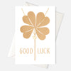 Good Luck Clover Necklace Gift Card