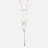 Star & Tusk Beaded Statement Lariat