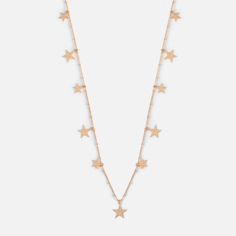 Falling Star Long Necklace