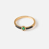 Teardrop Emerald Jewel Ring