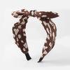 Brown Leopard Print Headband