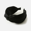 Silky Turban Headband - Black