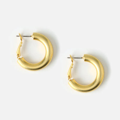 Super Chunky Medium Hoop Earrings