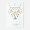 Spiritual Elephant Necklace - Gold