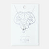 Spiritual Elephant Necklace - Silver