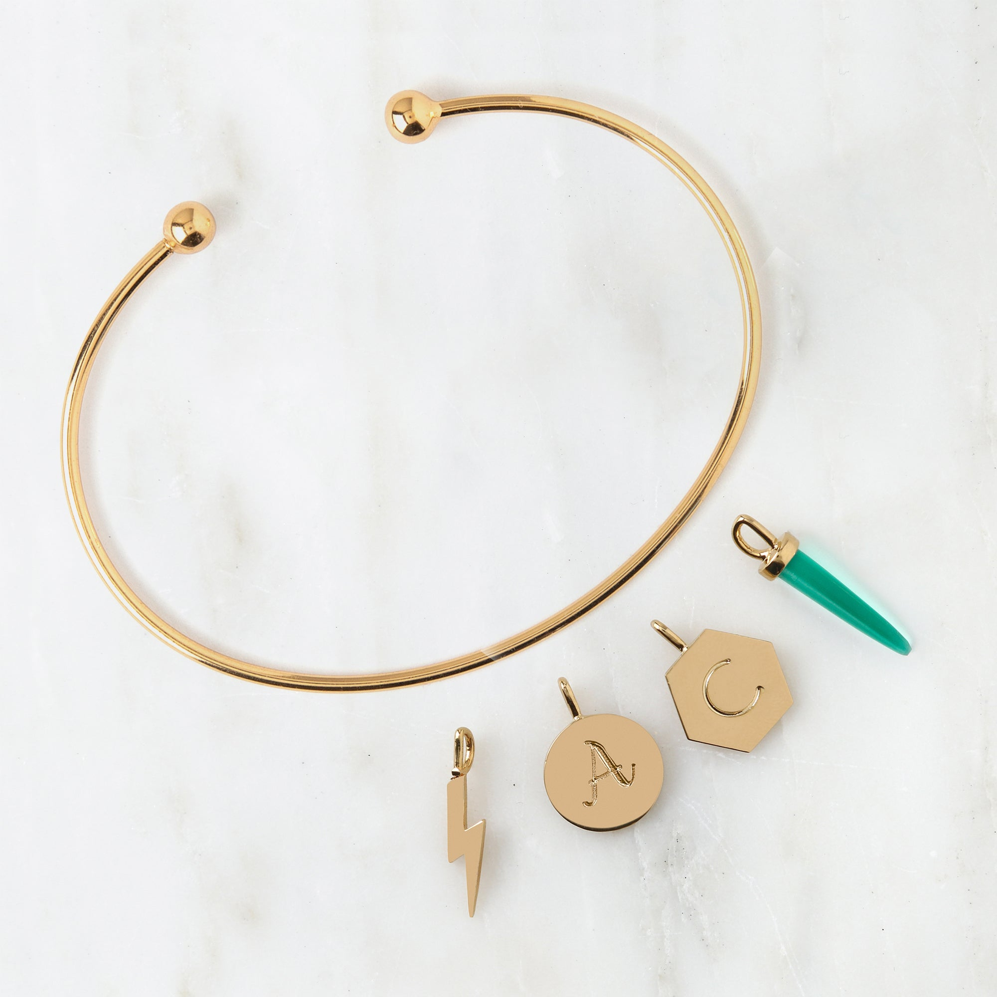 Edit Create Your Own Charm Bangle