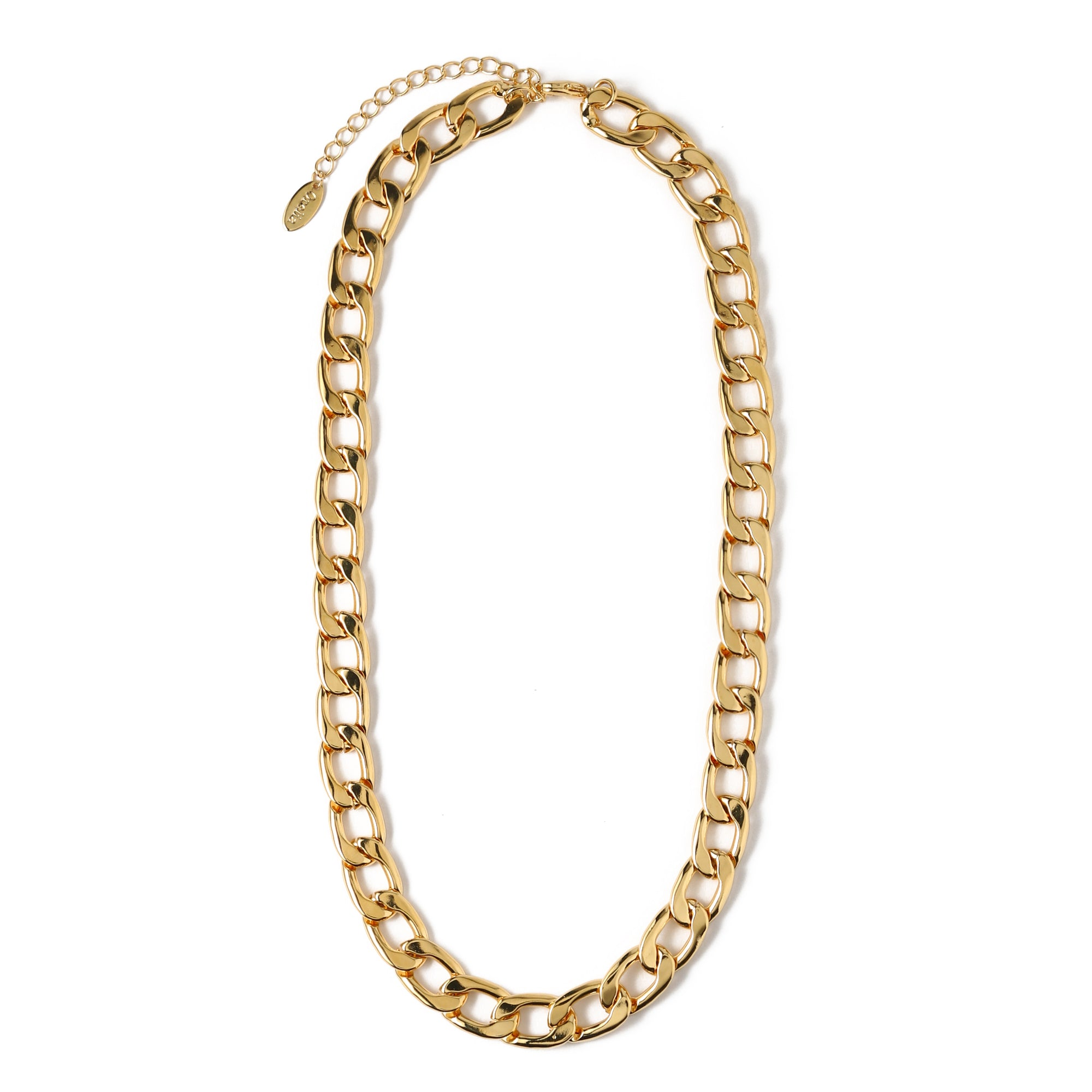 Chunky Chain Necklace - Gold