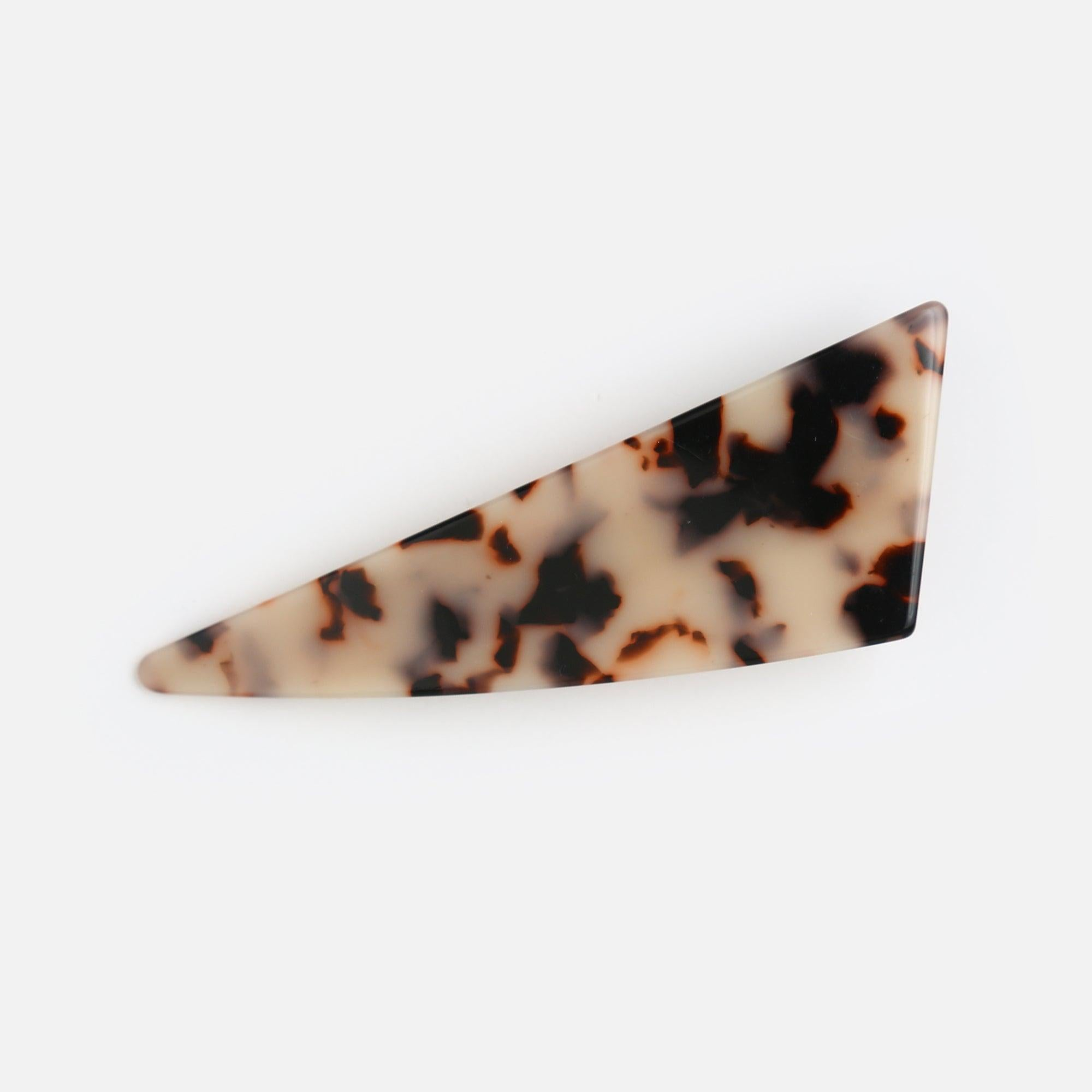 Abstract Resin Hair Clip