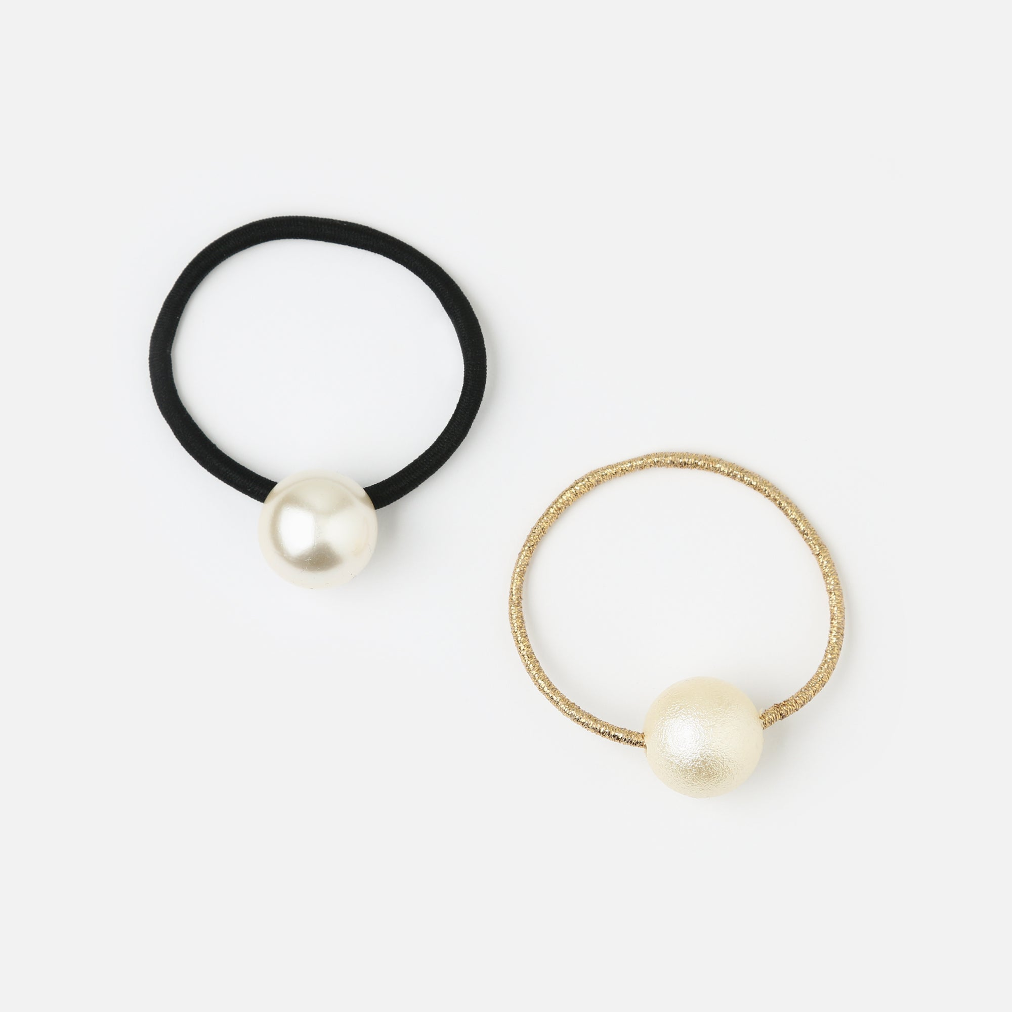 Pearl Stretch Hair Band - 2 Pack