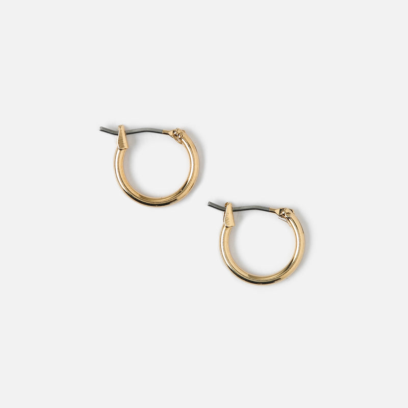 Edit Small Hoop Earrings