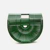 Emerald Bamboo Crescent Bag - Medium