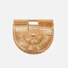 Bamboo Crescent Bag - Small