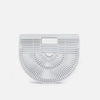 White Bamboo Crescent Bag - Small