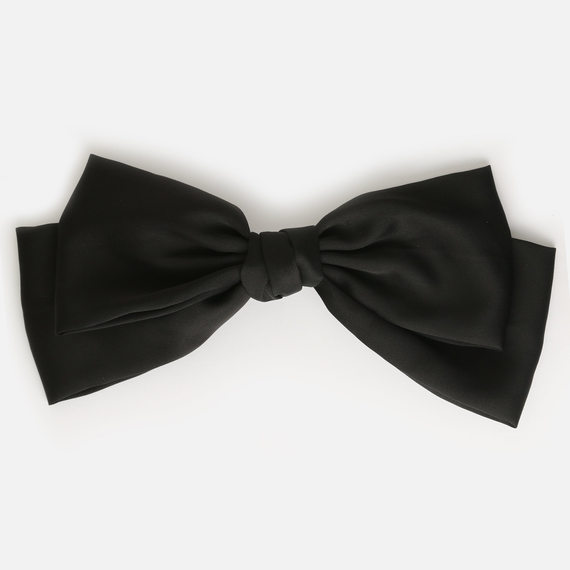 Large Black Hair Bow