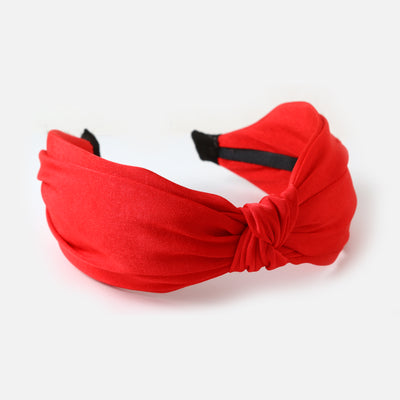 Red Knot Turban Headband