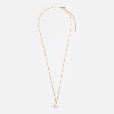 Single Pearl Satellite Necklace