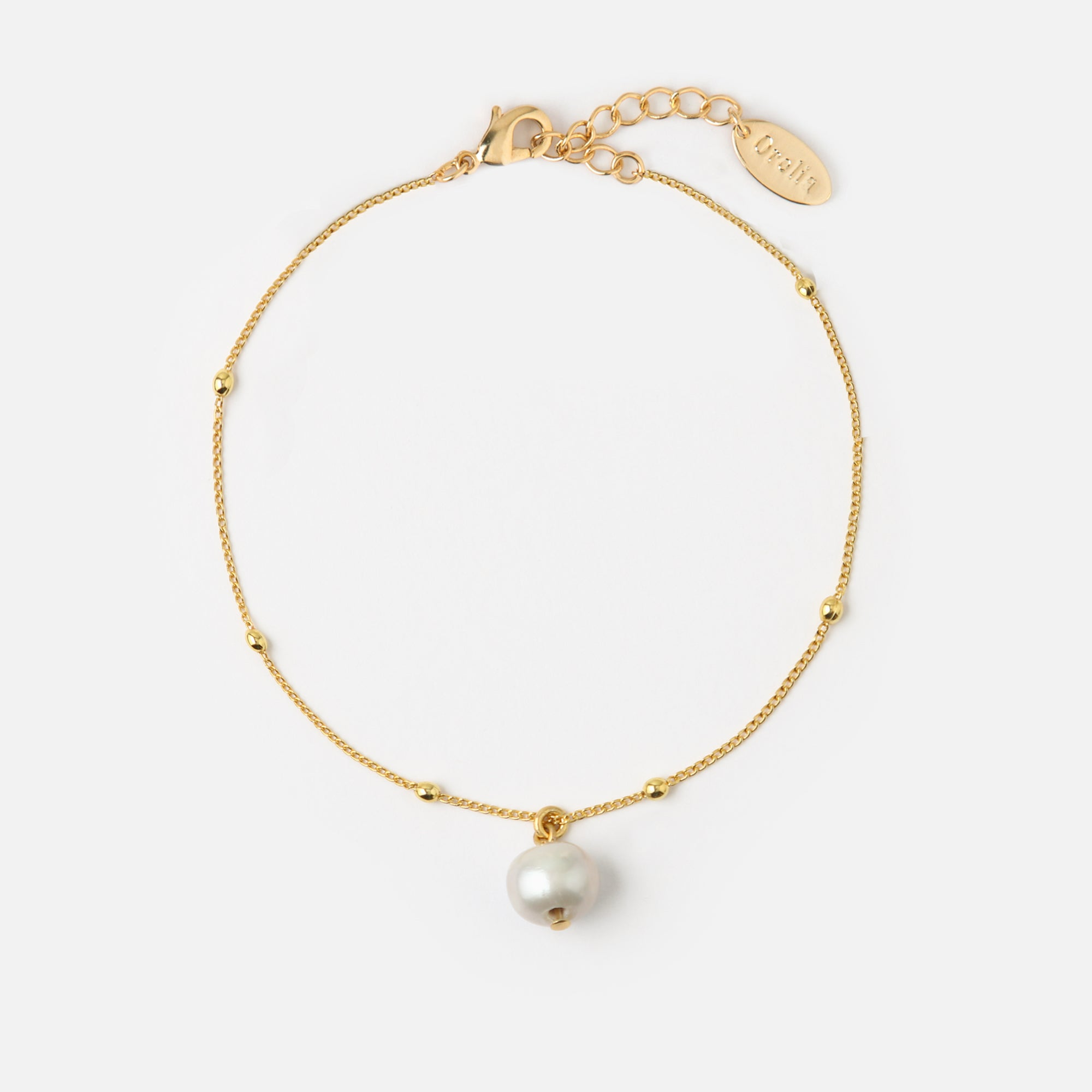 Single Pearl Satellite Bracelet