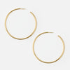 Large Gold Hoop Earrings