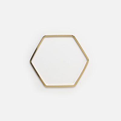 Hexagon Bangle