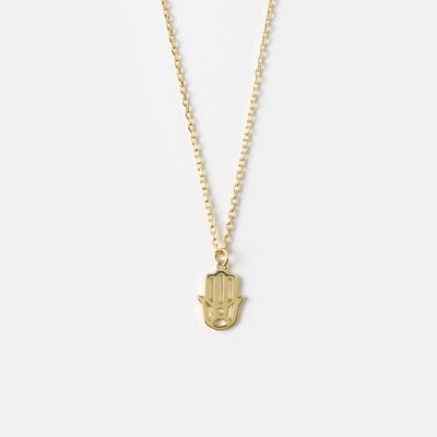 Hamsa Charm Necklace - Protection