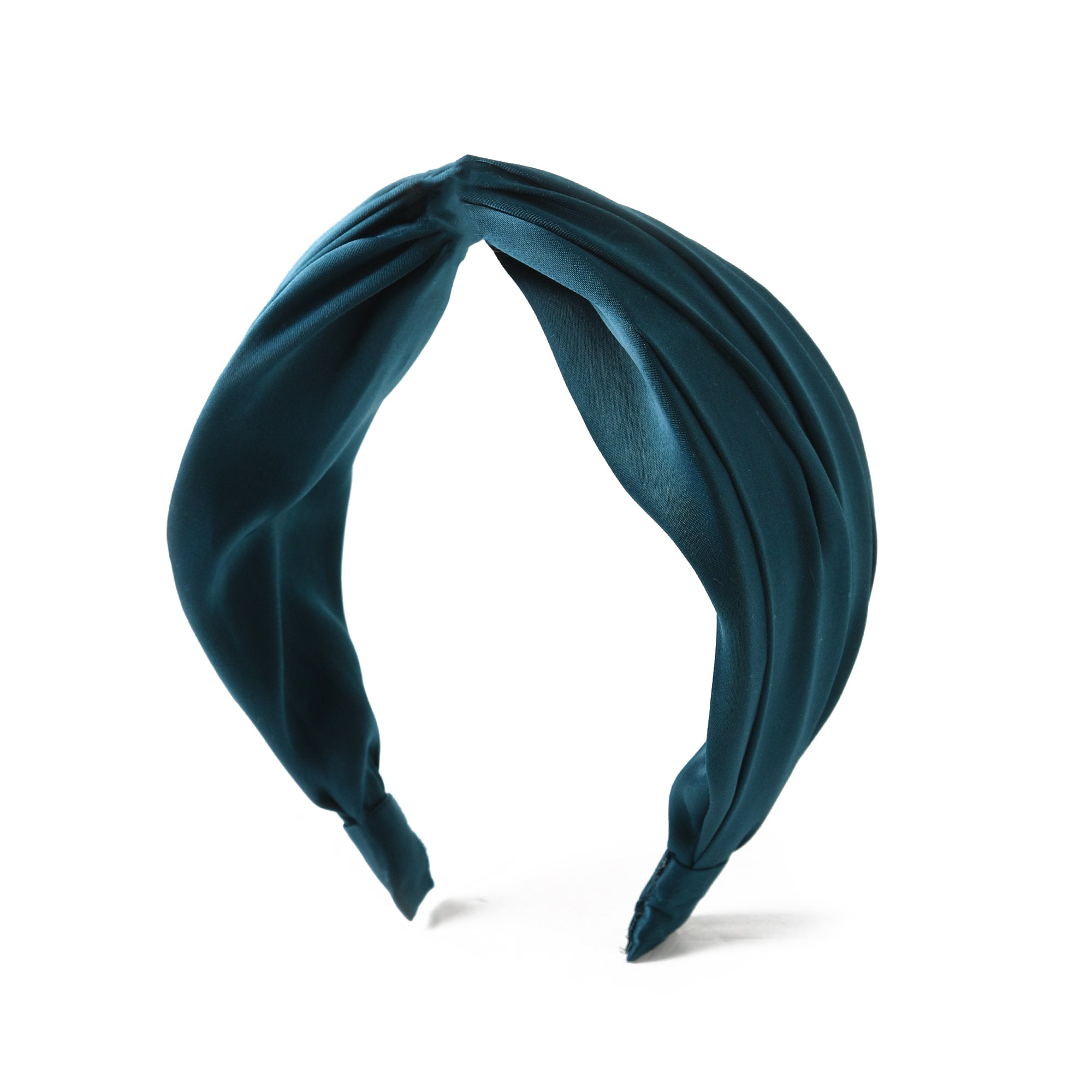 Silky Turban Headband-Teal