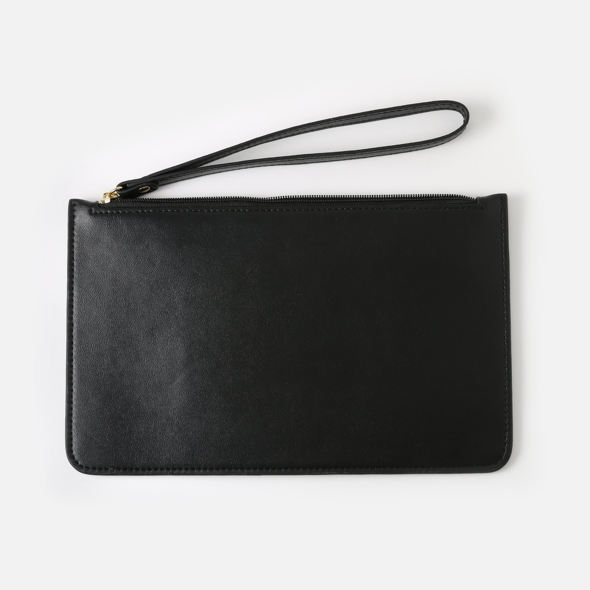 Brushed Black Pouch