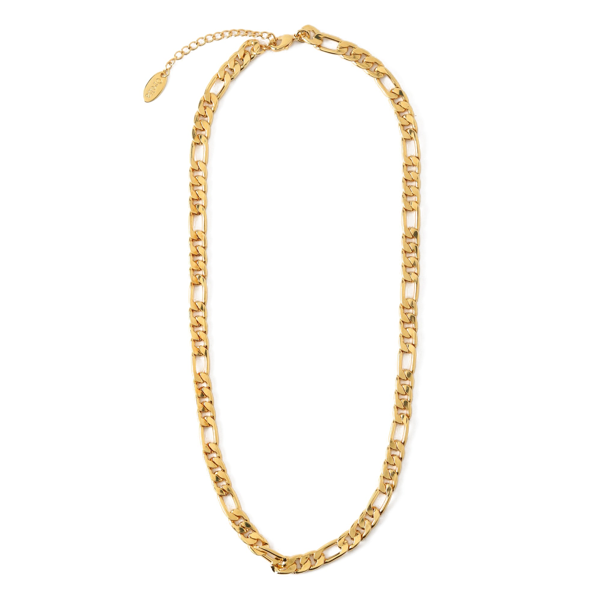 Flat Large Link Chain Necklace