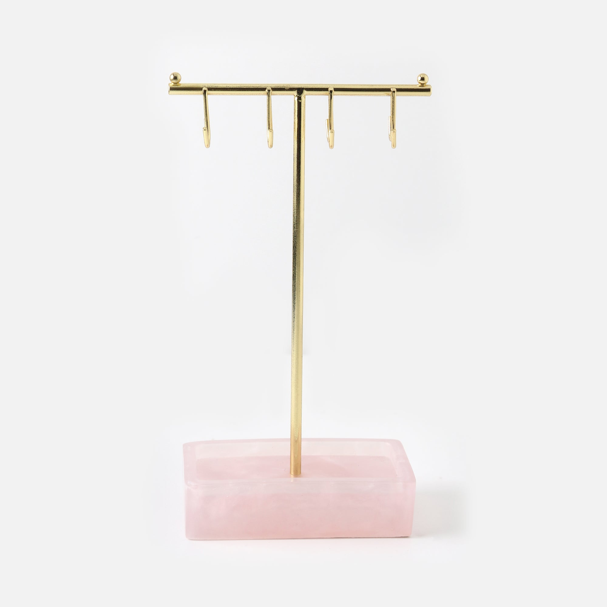 Stackers Small Rose Quartz Jewellery Stand