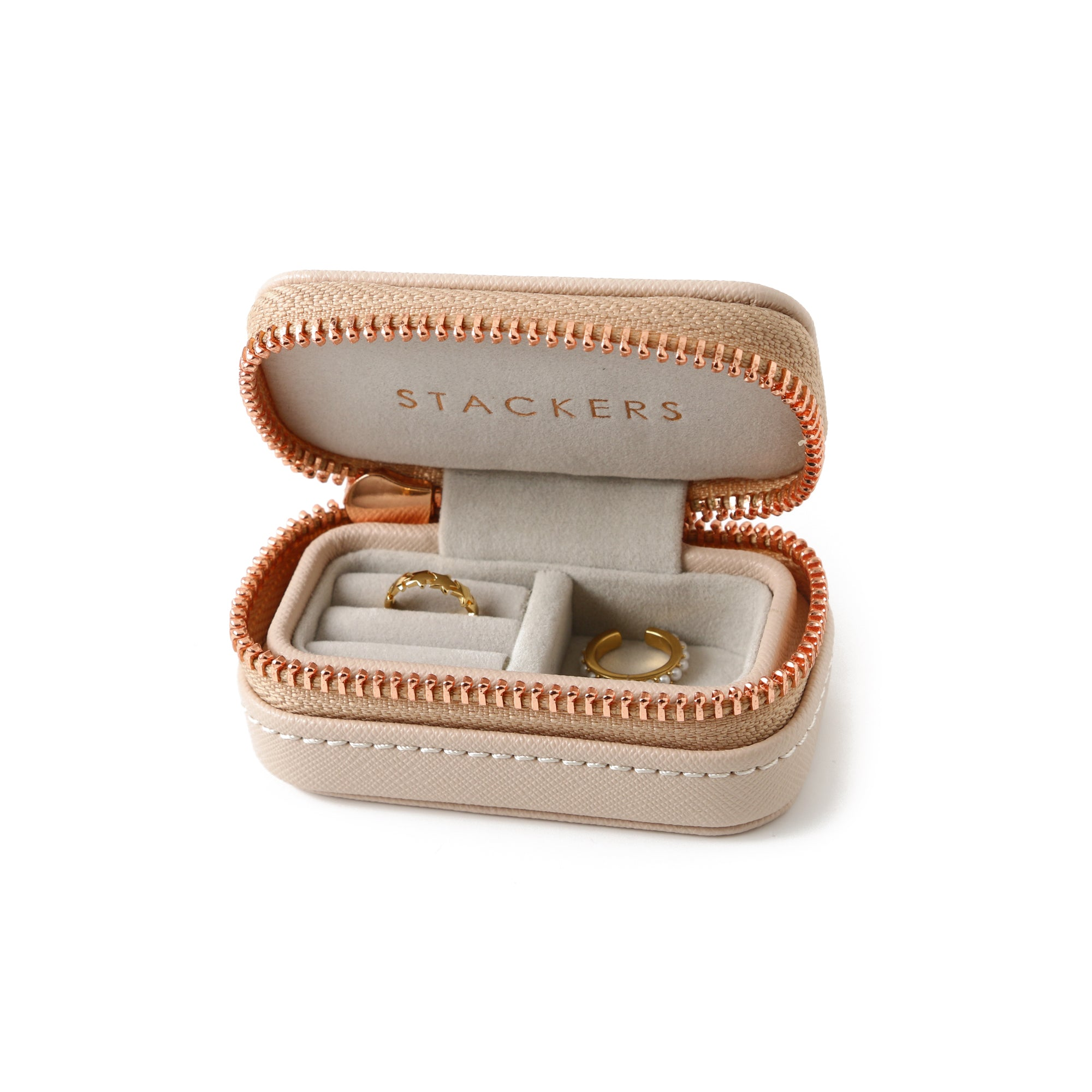 Stackers Petite Travel Jewellery Box - Blush