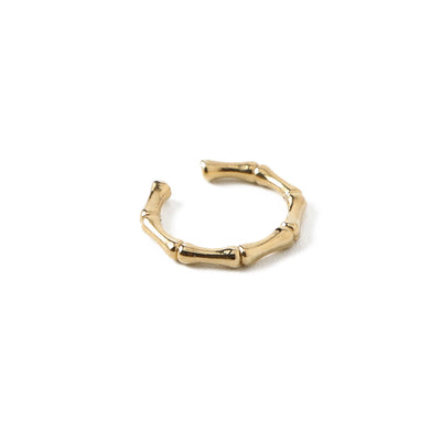 Bamboo Ear Cuff-Gold