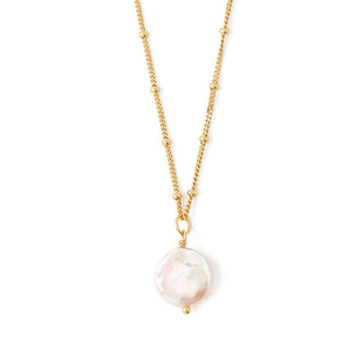 LUXE Pearl Drop Necklace