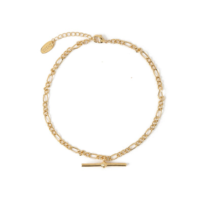 T-Bar Chunky Figaro Anklet
