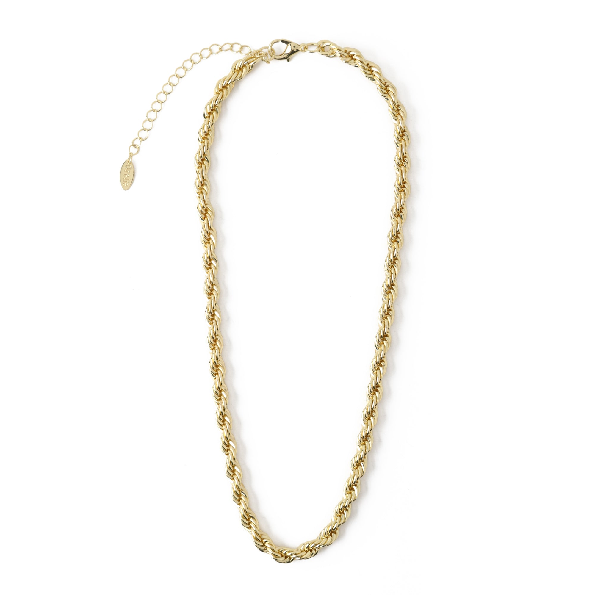 Chunky Rope Chain Necklace