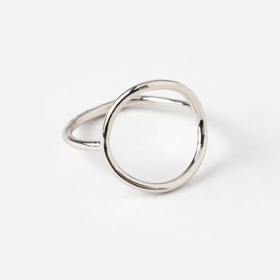 Simple Open Circle Ring