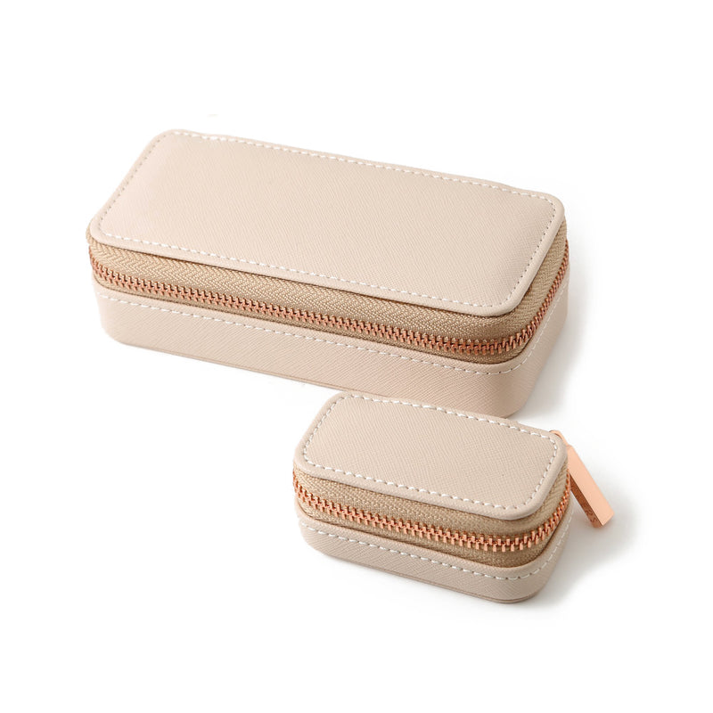 Stackers Medium Travel Jewellery Box - Blush