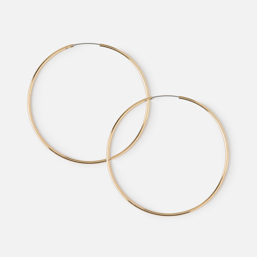 Medium Hoop Earrings - Gold
